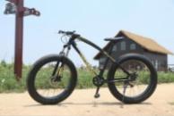 Элитный Велосипед FatBike Jaguar Black