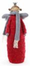Фигурка декоративная «Красный Ангел» 51см c LED-гирляндой