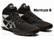 БОРЦОВКИ ASICS MATFLEX 6 BLACK/SILVER 1081A021-001