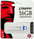 Флешка USB KINGSTON DataTraveler G4 16Гб, белый