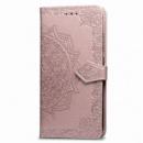 Кожаный чехол (книжка) Art Case с визитницей для Xiaomi Redmi Go Розовый