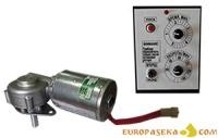 Привод медогонки электрический червячный с алюминиевым корпусом, напряжение 12 В (Модель 1)