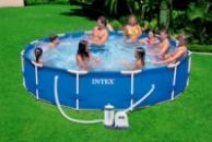 Каркасный бассейн INTEX 28212. Новый этап Вашей жизни.