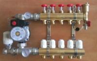 Коллектор APC теплого пола водяной 3 вых.
