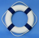 Круг спасательный диаметр 65х40мм синий