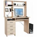 Компьютерный стол с надстройкой Хьюстон