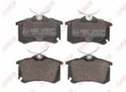 Тормозные колодки компл. задние AUDI A1, A3, A4, A6, A8, TT; SEAT ALTEA, ALTEA XL, IBIZA V, IBIZA V ST, LEON, LEON SC, L