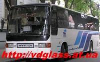 Лобовое стекло для автобусов Mitsubishi Maraton в Никополе