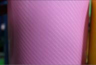 4D карбон лак розовый