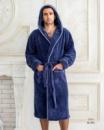 Мужской теплый халат Victoria 1711