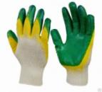 Перчатки от мех. повреждений (ЗЕЛЁНЫЕ/ЖЁЛТЫЕ)