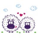 Интерьерная Наклейка Lamb