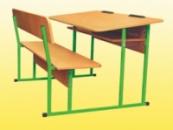 Столы, парты школьные Гелика п.1