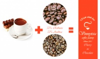 Кава зернова ароматизована Вінницька Фарбрика Кави Баварський Шоколад 1000 гр.