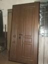 Полуторные металлические двери с Мдф накладками