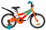 Велосипед 16« Formula RACE усилен. St с крылом Pl 2019 (оранжево-бирюзовый)