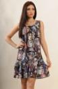 Платье Джесс, принт пикассо