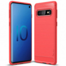 TPU чехол iPaky Slim Series для Samsung Galaxy S10+ Красный