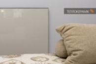 Керамическая нагревательная панель Теплокерамик ПЭПК 370 вт универсал Белая