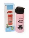 Термос детский Readily Cup 350 мл металлический розовый миньон