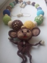 Слингобусы «Веселая обезьянка» - отлично подойдут для маленьких деток от автора handmade Ирины Обжеляновой.