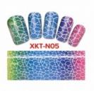 14-19 Фольга на ногти/ Переводная фольга/ Для дизайна ногтей/ Для маникюра