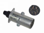 Вилка електрична 24V N-тип метал