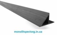 Уголок 20 мм. для фаски колонн из ПВХ (фаскообразователь и защитастыка от протечки молока)