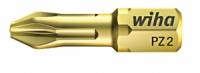 Биты Wiha HOT Torsion PZ 2, 25 mm. - сверхтвёрдое качество Torsion