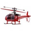 Вертолёт 4-к большой р/у 2.4GHz WL Toys V915 Lama (синий, красный, желтый)
