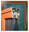 Дерево-алюминиевые раздвижные окна и двери .
