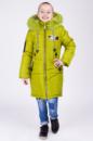 Зимняя куртка для девочки «Мода» яблоко