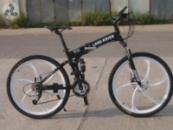 Элитный Велосипед LAND ROVER Black на литых дисках