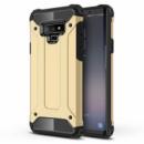 Бронированный противоударный TPU+PC чехол Immortal для Samsung Galaxy Note 9 Золотой