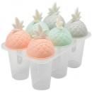 Форма для мороженого STENSON «Ананас» 6 шт 13 см (C39822)