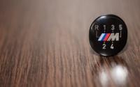 Эмблема ручки кпп BMW-M performance 5 ст