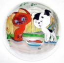 Керамическая тарелка для сублимации, D25см