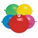 Воздушные шары линколун пастель ассорти 13'' 33 см