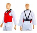 Защита груди(корпуса) детская ZELART Z-4222-R красный