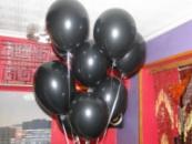 Гелиевые черные шары