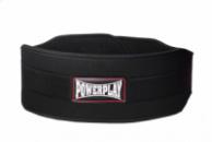 Пояс для важкої атлетики PowerPlay 5535 Чорний (Неопрен) M