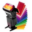 Фильтры цветные на внешнюю вспышку