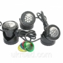 Светильник для пруда AquaNova NPL1-LED3 в (к-те датчик деньночь)