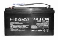 Свинцово-кислотный аккумулятор ALVA AD12-80Ач