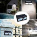 Настенный уличный светильник с датчиком движения Solar Motion Sensor Light двойной