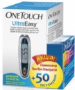 Глюкометр OneTouch UltraEasy + 50 тест полосок