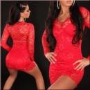 Платье« Алое»в красном ,черное ,скл№1
