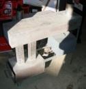 Печь буржуйка «Геркулес» на отработанном масле