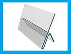 Ценникодержатель для плотной бумаги