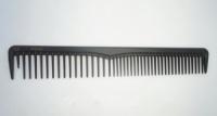 Расческа для стрижки волос карбонная EAGLE FORTRES термостойкая